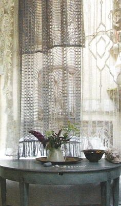 Cat Lace Curtains French Lace Curtains French by HatchedinFrance ...