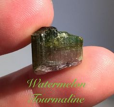 Watermelon Tourmaline Bi-color Tourmaline From by Rt395Minerals