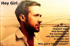 Thank you to my sister for sharing this on Pinterest, I've now discovered a treasure trove of  Ryan Gosling homeschool memes. Check out this site for its dedication to the whole concept.  I was ser...