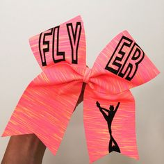 Hey, I found this really awesome Etsy listing at https://www.etsy.com/listing/239157163/flyer-neon-sunset-spandex-cheer-bow
