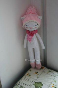 Crochet blog: Кошечка крючком