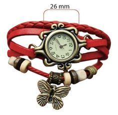 Online Shopping for Trendy ladies leather watch | Bracelets n Bangles | Unique Indian Products by Swastique - MSWAS48935240420
