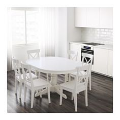 Esstisch 6 Personen ingatorp extendable table white extendable dining table