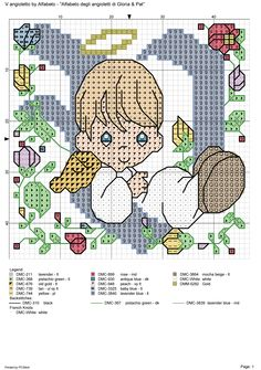 alfabeto degli angioletti: V