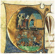 Alimentazione medievale - Wikipedia -Un fornaio sorpreso ad imbrogliare i clienti viene punito venendo trascinato per il paese su una slitta, con delle fette di pane legate attorno al collo.