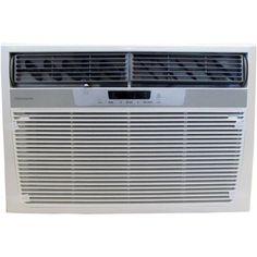 Frigidaire BTU Window-Mounted Heavy-Duty Air Conditioner with BTU Supplemental Heat volts) from Frigidaire Black Friday Cyber Monday