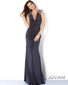 This reminds me of you! Open Back Gown, Style 4810