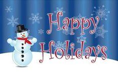 Christmas Happy Holidays Snowman 3 x 5 Flag