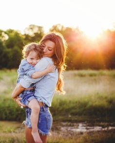 Family photography mother and son portrait // Taken by Shots by Cheyenne Ward…