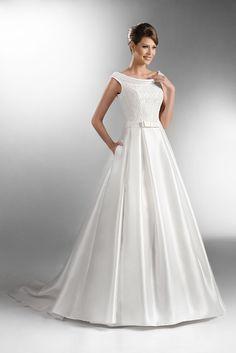 TO-505 - The One 2016 - Kolekcja sukni ślubnych Agnes - koronkowe suknie ślubne