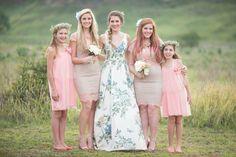 South African Fashion, African Fashion Designers, Bridesmaid Dresses, Wedding Dresses, Ruffles Bridesmaid Dresses, Bride Dresses, Bridesmaid A Line Dresses, Bridal Wedding Dresses, Wedding Bridesmaid Dresses