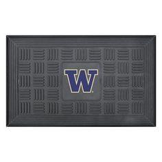 FANMATS NCAA University of Washington Medallion Door Mat