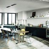 Bonnard Paris Apartment Kitchen - by Antonio Virga. Truly gorgeous Paris loft.