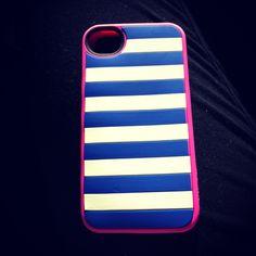 Striped iPhone 4S phone case!