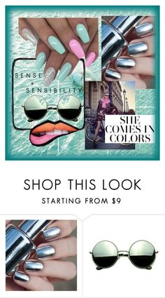 """She comes in colours"" by sim123sim ❤ liked on Polyvore featuring Burton and Revo"