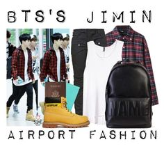 """BTS's Jimin ~ Airport Fashion 