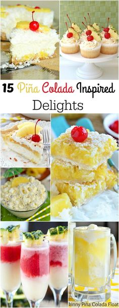 Dessert Dips, Trifle Desserts, Delicious Desserts, Dessert Recipes, Pineapple Recipes, Cocktail Desserts, Good Food, Yummy Food, Coconut Recipes