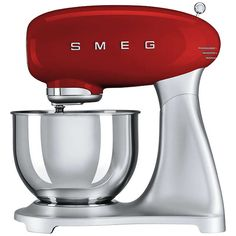 BuySmeg SMF01 Stand Mixer, Red Online at johnlewis.com
