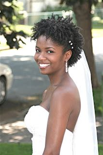 Chavonne- A Natural Bride | Curly Nikki | Natural Hair Styles and Natural Hair Care