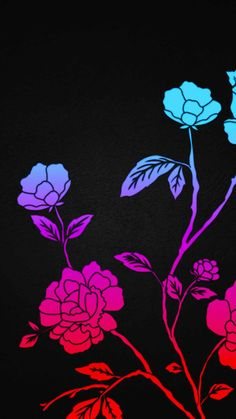 Flower Plant Art IPhone Wallpaper - IPhone Wallpapers