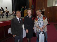 Encontro com a Presidente do Bunkyo, Sra. Harumi Arashiro Goya e com o Presidente da Associação Okinawa Kenjin do Brasil, Sr. Eike Shimabukuro