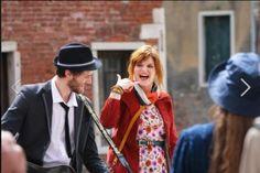 Chiara Galiazzo, le foto sul set del nuovo spot Tim Young girato a Venezia