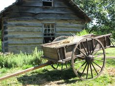 Just a farmer - rewrite poem for other occupations Country Barns, Country Life, Horse Drawn Wagon, Old Farm Houses, Manor Houses, Wooden Wagon, Old Wagons, Scenery Pictures, Old Farm Equipment