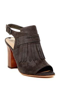 fa137c4bfc6 Fey Open Toe Fringe Slingback Sandal Slingback Sandal