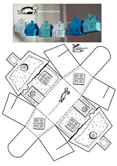This full body workout routine targets everything from your abs to your arms. - This full body workout routine targets everything from your abs to your arms. This full body workout routine targets everything from your abs to your arms. Diy And Crafts, Crafts For Kids, Paper Crafts, Foam Crafts, House Template, Glitter Houses, Theme Noel, Paper Houses, Cardboard Houses