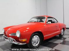 1970 Volkswagen Kharmann Ghia For Sale looks like a car right out of San Francisco.