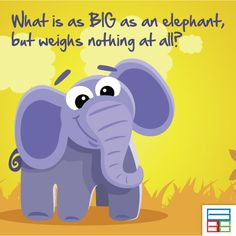 An average elephant weighs about 3000 kg #Quiz #Kids