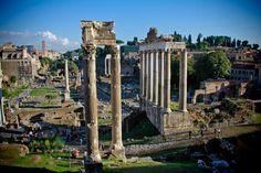 ROME - ITALY  Fórum Romano visto dos Museus Capitolinos