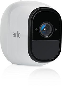 Arlo Pro Security Camera – Add-on Rechargeable Wire-Free HD Camera with Audio (Base Station not included), Indoor/Outdoor, Night Vision…