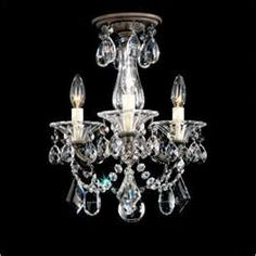 Small antique chandelier