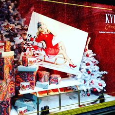 """@elementaldesign has partnered with the @itvtextsanta #Christmas campaign to create a #window at @libertylondon featuring @kylieminogue's first Christmas…"" - Thanks to retailfocus via instagram"