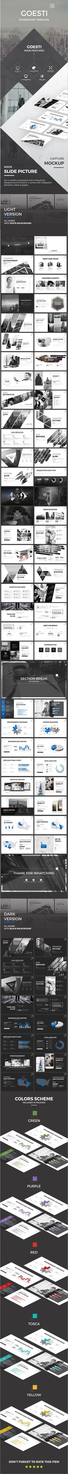 Goesti PowerPoint Template  #maps #tech • Download ➝ https://graphicriver.net/item/goesti-powerpoint-template/18660630?ref=pxcr