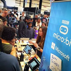 The BBC micro:bit is getting a LOT of attention at #MFBA16!  #ARMTechnology #ARMEcosystem #MakerFaire #Maker #MakerMovement #IoT #InternetOfThings #Tech #Technology #MakerFaireBayArea #BayArea #SiliconValley #bbcmicrobit #microbit #microsoft by armcommunity