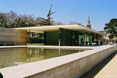 Mies van der Rohe e o Pavilhão de Barcelona