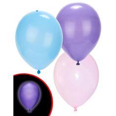Ballon lumineux led pastel x5