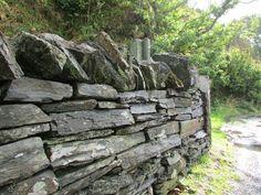 Scotland, Slate Wall, Stone Wall, Old Wall #scotland, #slatewall, #stonewall, #oldwall Scotland Vacation, Old Wall, Slate, Things To Do, Wood, Things To Make, Chalkboard, Woodwind Instrument, Timber Wood
