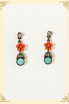 Blooming about earrings. Francesca's.