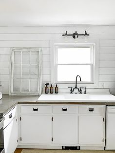 The Story Of My 100 year old Antique Cast Iron Drainboard Sink, And A Collaboration With Kingston Brass Cast Iron Farmhouse Sink, Cast Iron Kitchen Sinks, Cast Iron Sink, Home Decor Kitchen, New Kitchen, Kitchen Design, Kitchen Ideas, Outdoor Sinks, Old Sink