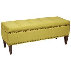 Estrella Storage Bench in Basil from the Ave Six event