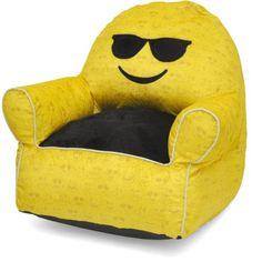 Groovy Gomoji Emoji Kiss Bean Bag Chair 9630201 Products Kids Gmtry Best Dining Table And Chair Ideas Images Gmtryco