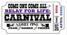 Relay for Life Carnival Theme