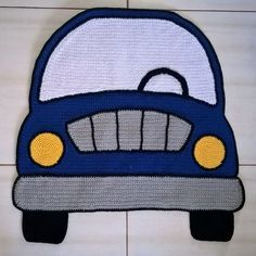 Crochet Car, Crochet For Boys, Crochet Home, Crochet Granny, Crochet Shawl, Tatting Patterns, Crochet Patterns, Crotchet Baby Blanket, Granny Square Blanket