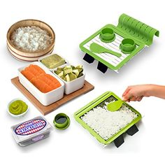 Sushi Making Kit -Gourmet- Perfect Roll Sushi Maker Kit!! >>> To view further for this item, visit the image link. (This is an affiliate link) #ToolGadgetSets