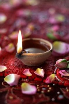 Lighting an earthen lamp, depicts eradication of darkness not only from our home but from our thoughts, beliefs and soul. The light marks the faith and readiness to be enlightened, according to Hindu culture. -- Diwali.