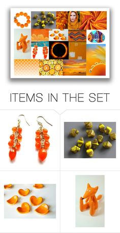 """Bright & Warm"" by crystalglowdesign ❤ liked on Polyvore featuring art"