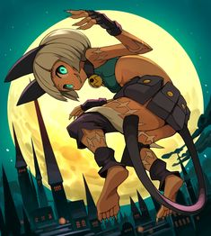 Skullgirls, Drawing Reference Poses, Art Reference, Dungeons And Dragons Characters, Black Anime Characters, Wallpaper Naruto Shippuden, Anime Furry, Art Station, Free Anime